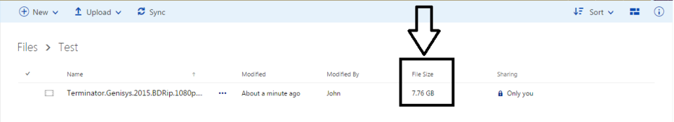 Upload size limit OneDrive « John Yassa's Blog